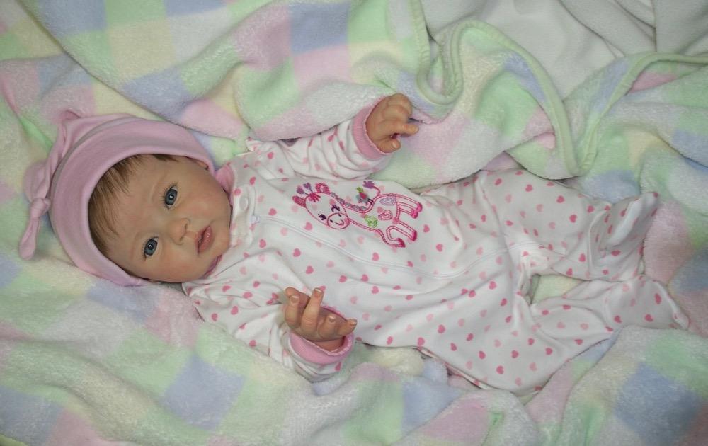 Reborn Baby Girl Abigail Ping Lau Raven Le Doll Ebay